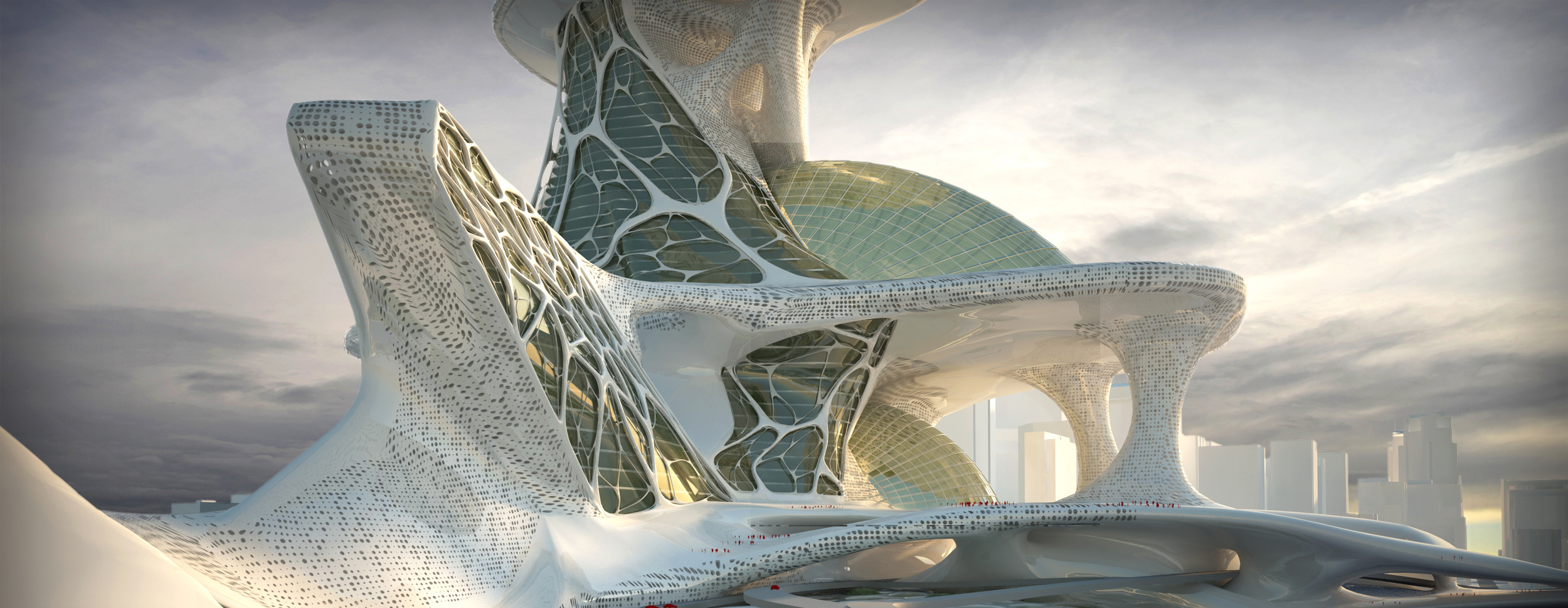 Paskan Tower - Parametric Design of the form and facade