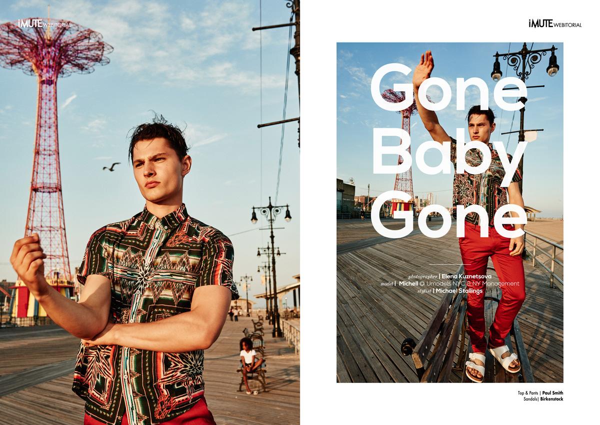 'Gone baby Gone' Imute Magazine october 2016