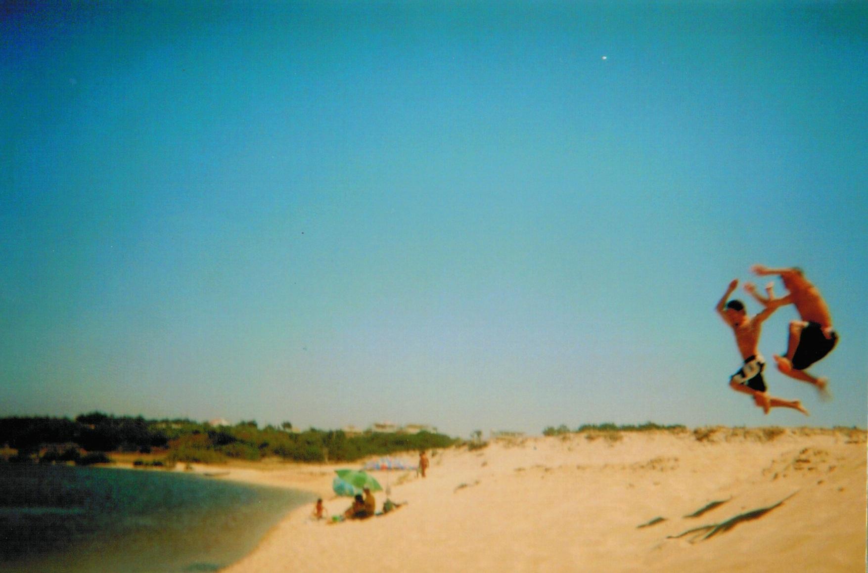 Uma qualquer praia na Costa Vicentina, Portugal, 2013.