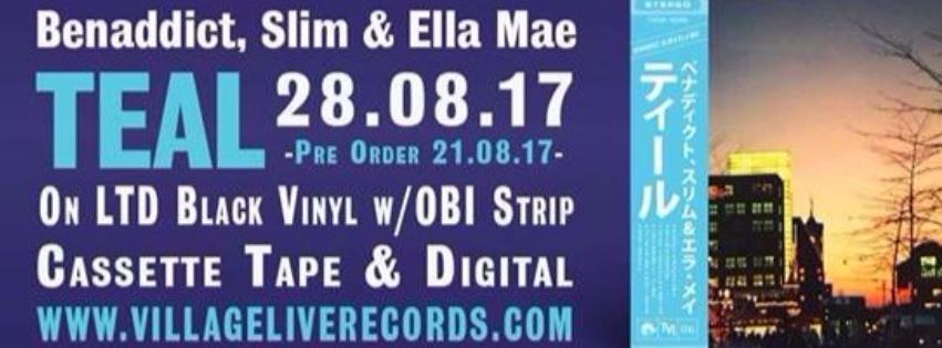 benaddict slim ella mae teal village live records hip hop jazz new lp.png