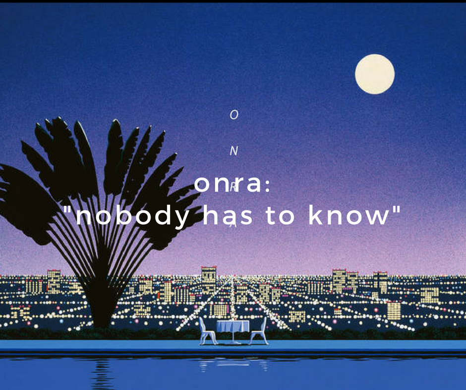 onra nobody has to knnow new album no question hip hop boogie jazz funk.png