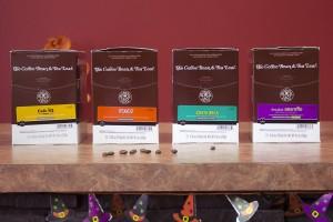 The Coffee Bean & Tea Leaf four pack