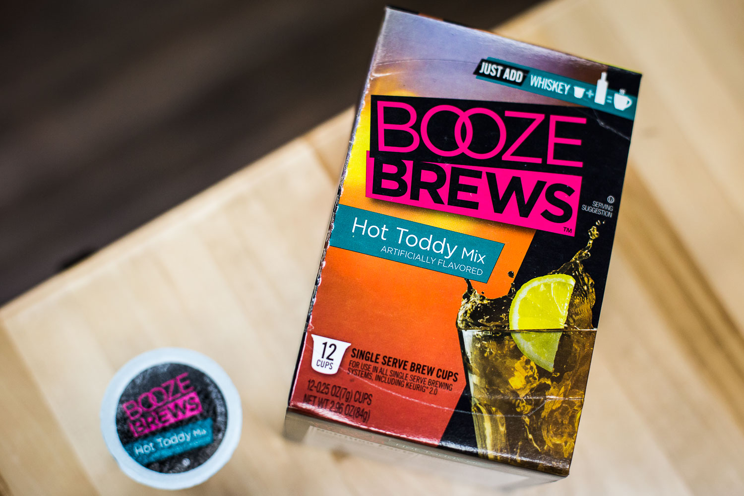 A gift with a little more of a kick! Booze Brews single serve brew cups provide the perfect pairing for classic concoctions.