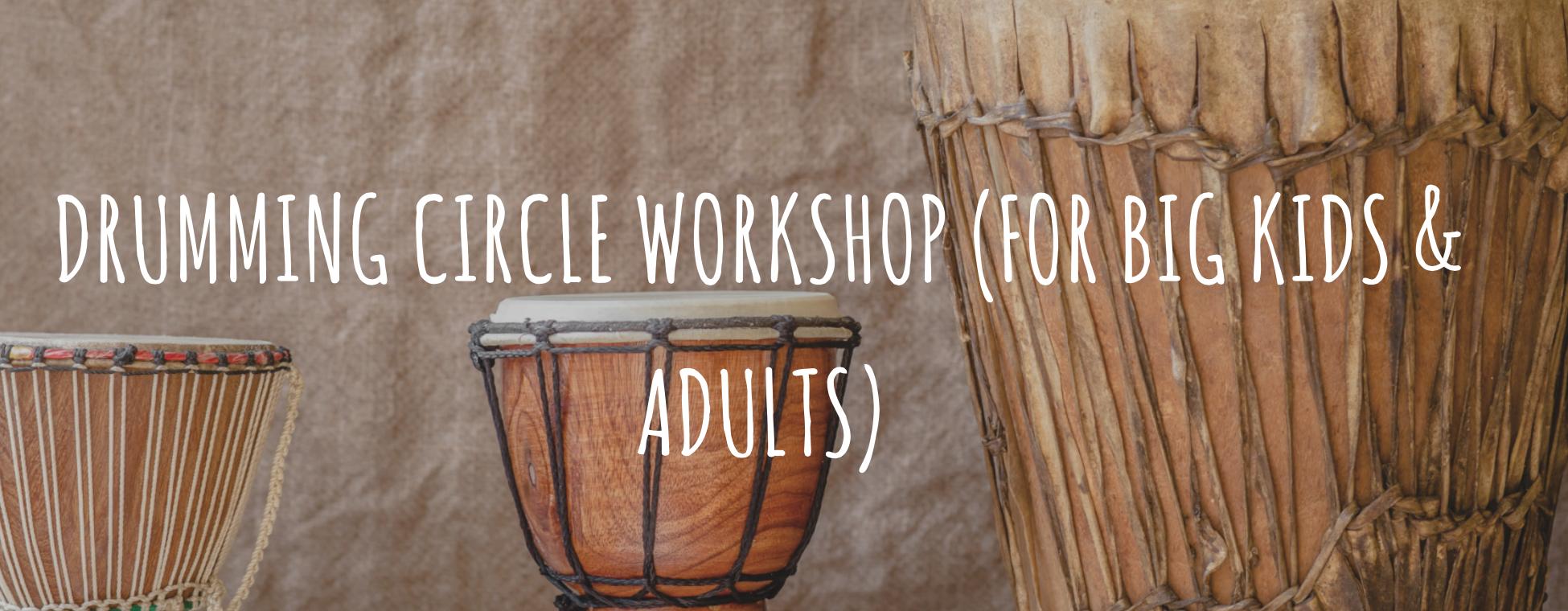 Drumming circle Workshop