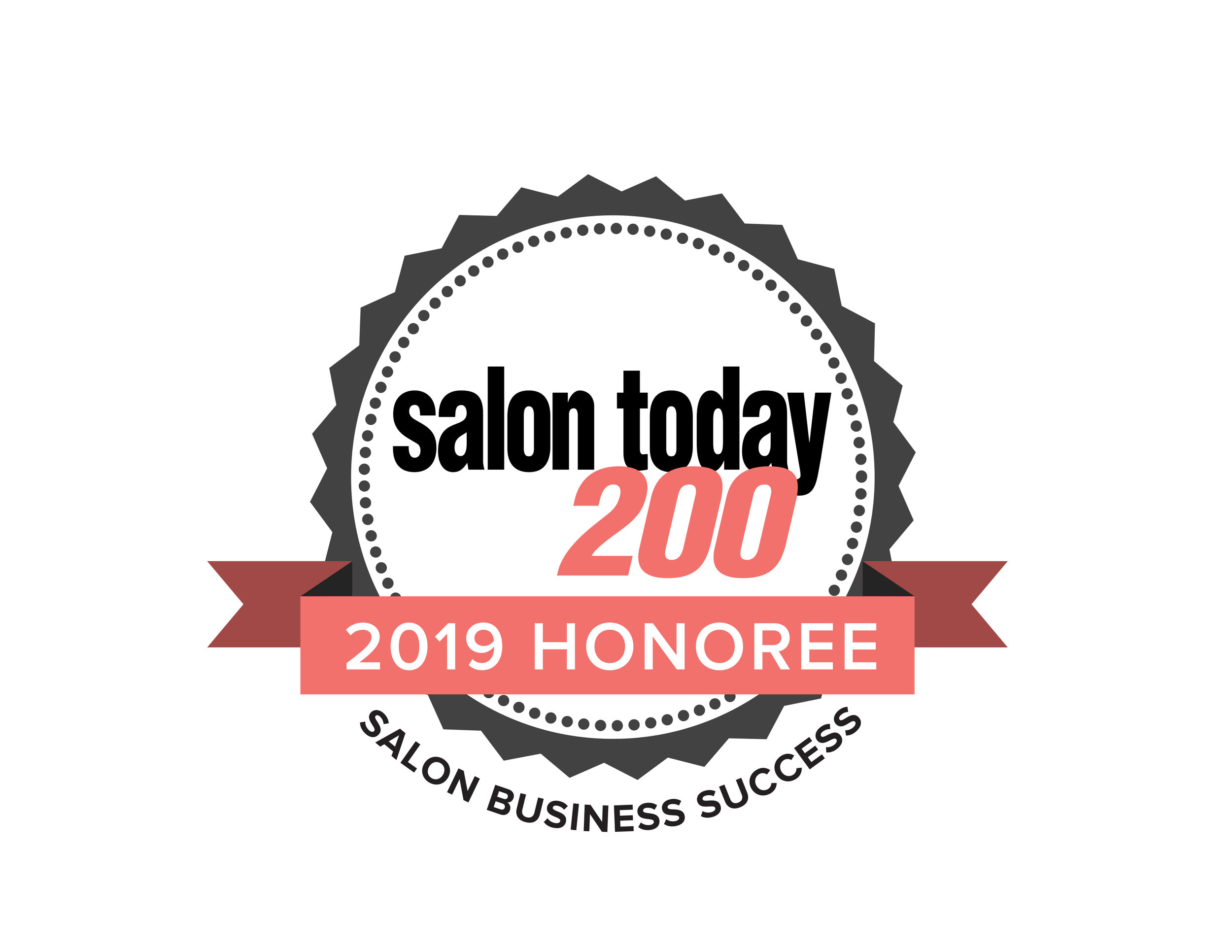 salon today 200 - We are delighted to announce that we've been named a TOP 200 SALON in North America in Salon Today Magazine!
