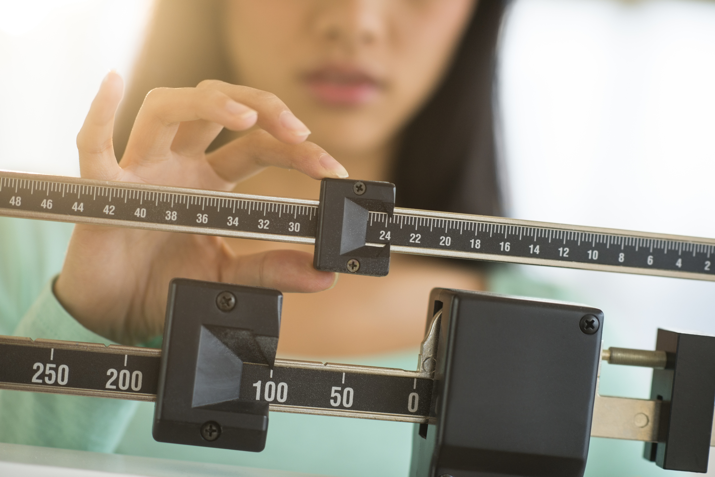 WHILE WEIGHT-loss is a popular Clients' Request,what it really matters is body-composition as one could be heavier but still been fitter. So, as fat is more dense than muscle mass,A tape measure beats ascale anytime.