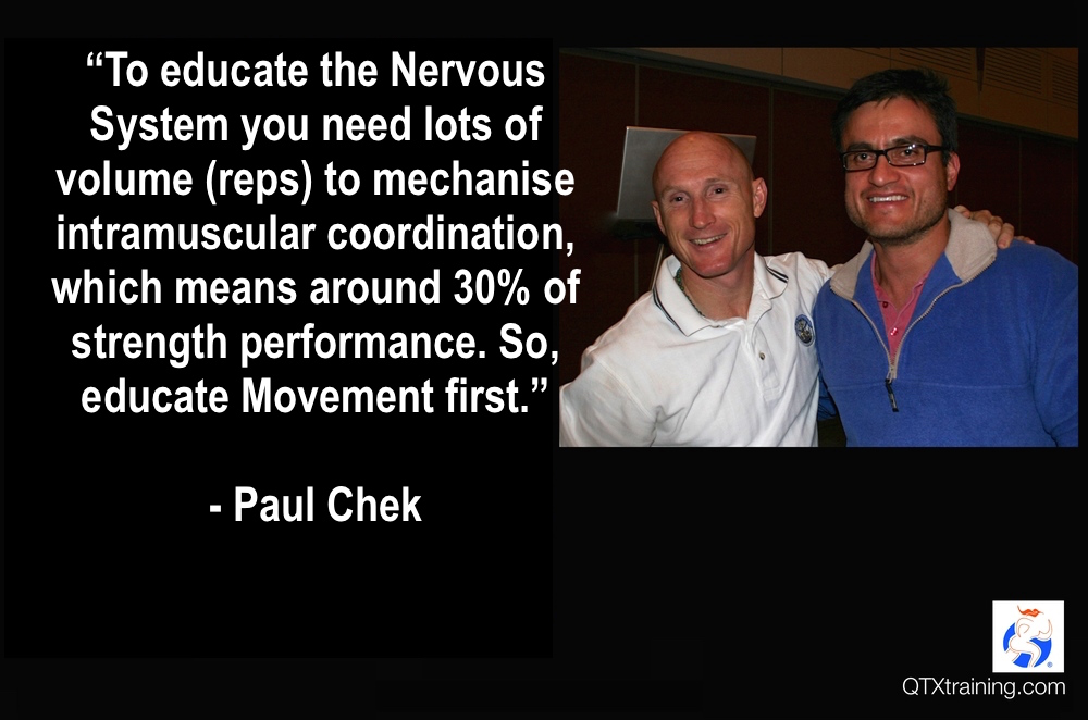 Mr. Paul Chek, arguably one of the smartest leaders in the health, wellness & Health Industry. sydney, 2006.