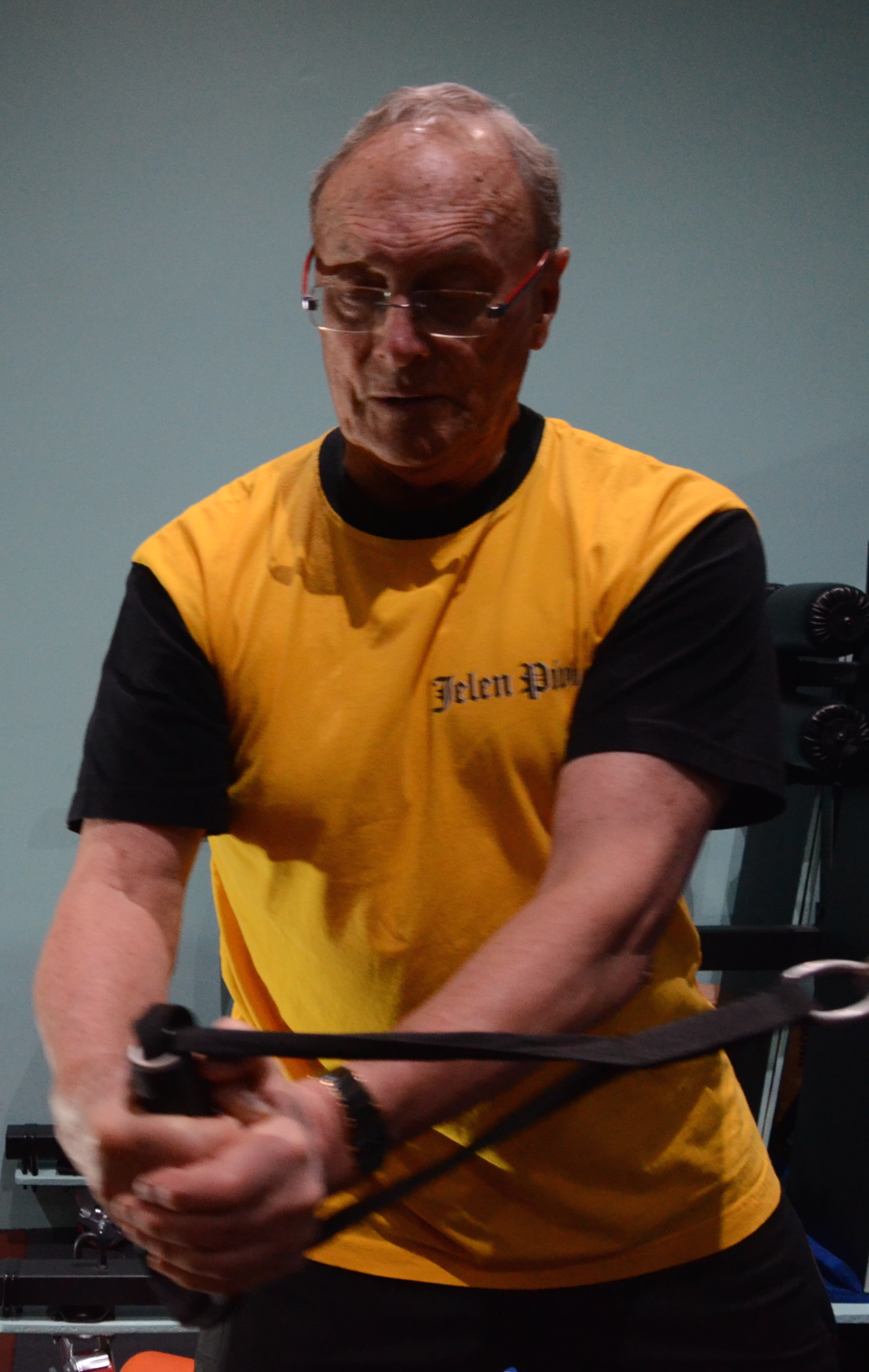 Tony's performance training sessions include tailored strategies for his theraputic needs, carryover movements to assist his daily lifestyle and drills transferable into his sport of choice, golf
