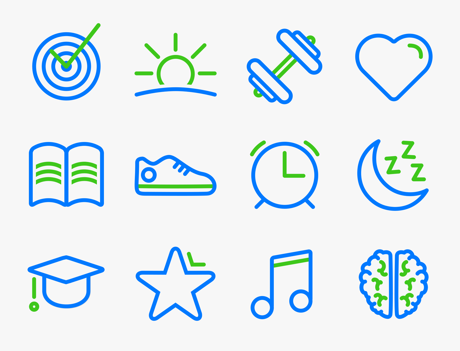 Icons for any habits you can imagine
