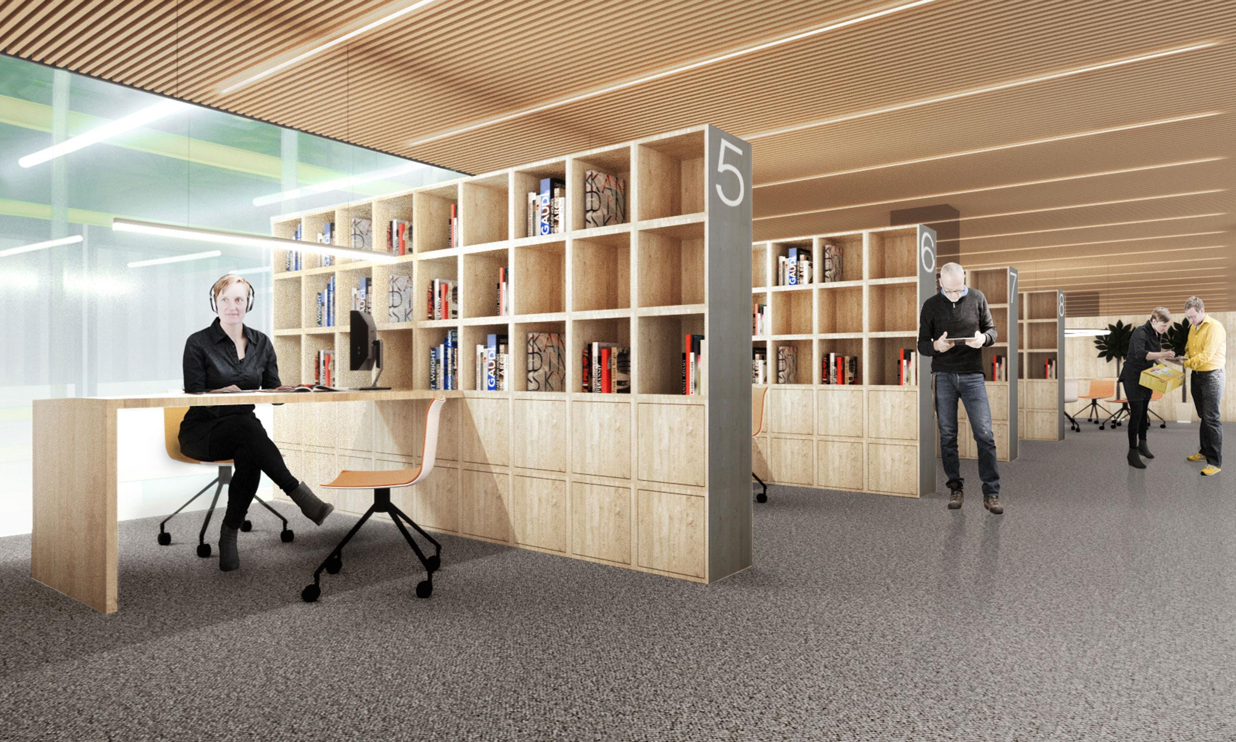 Офисные пространства антресоли