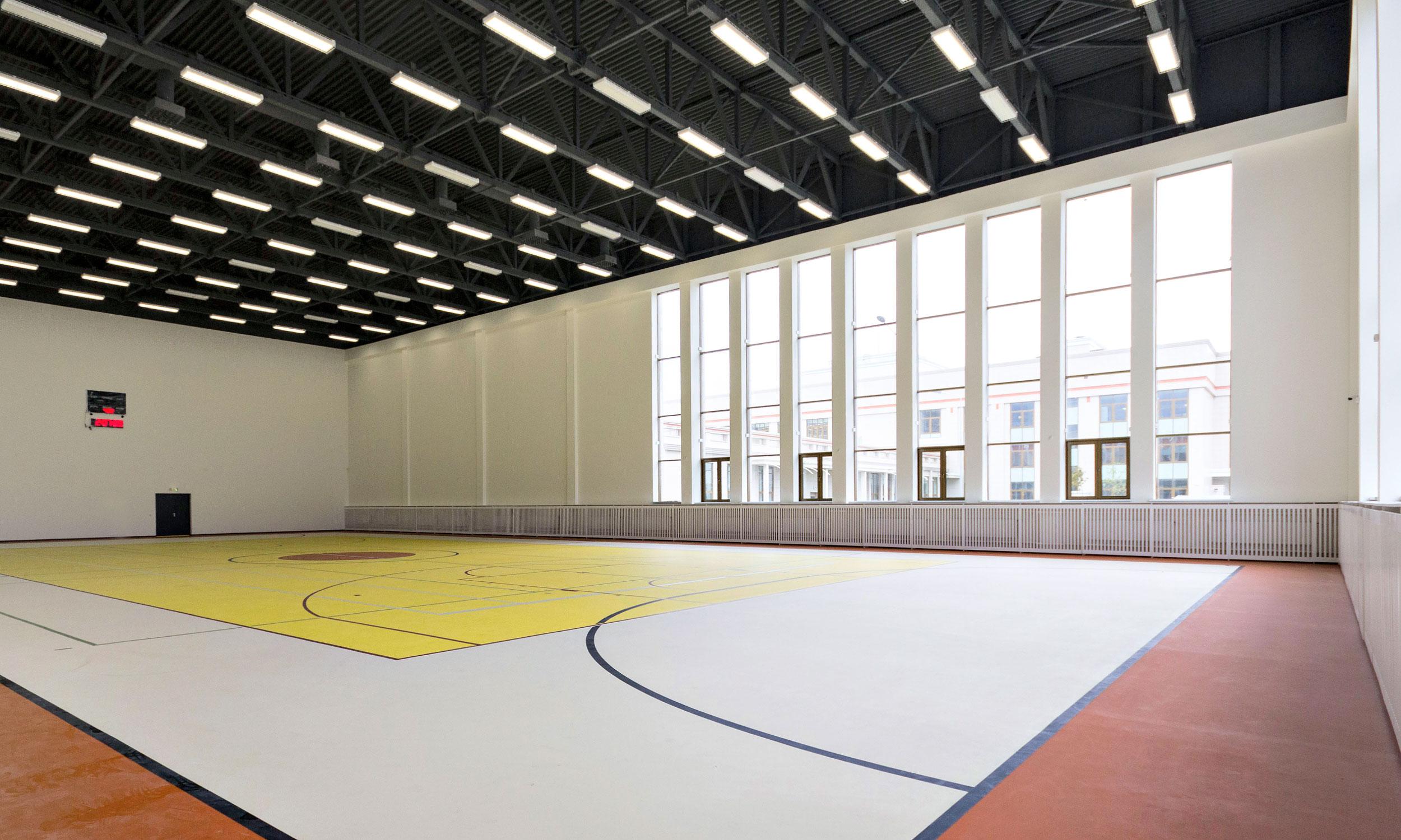 Основной спортивный зал блока С