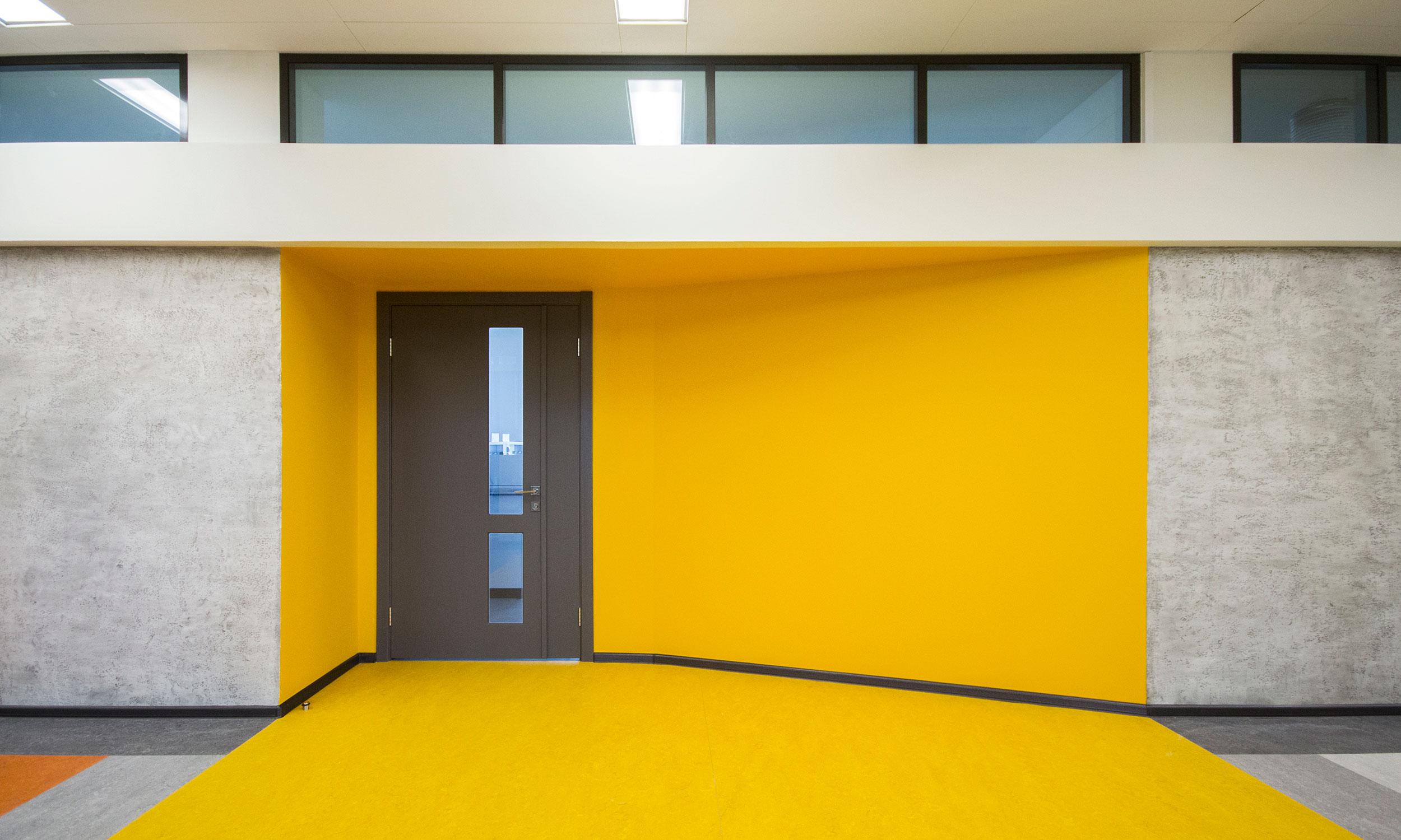 Блок B - вход в кабинет