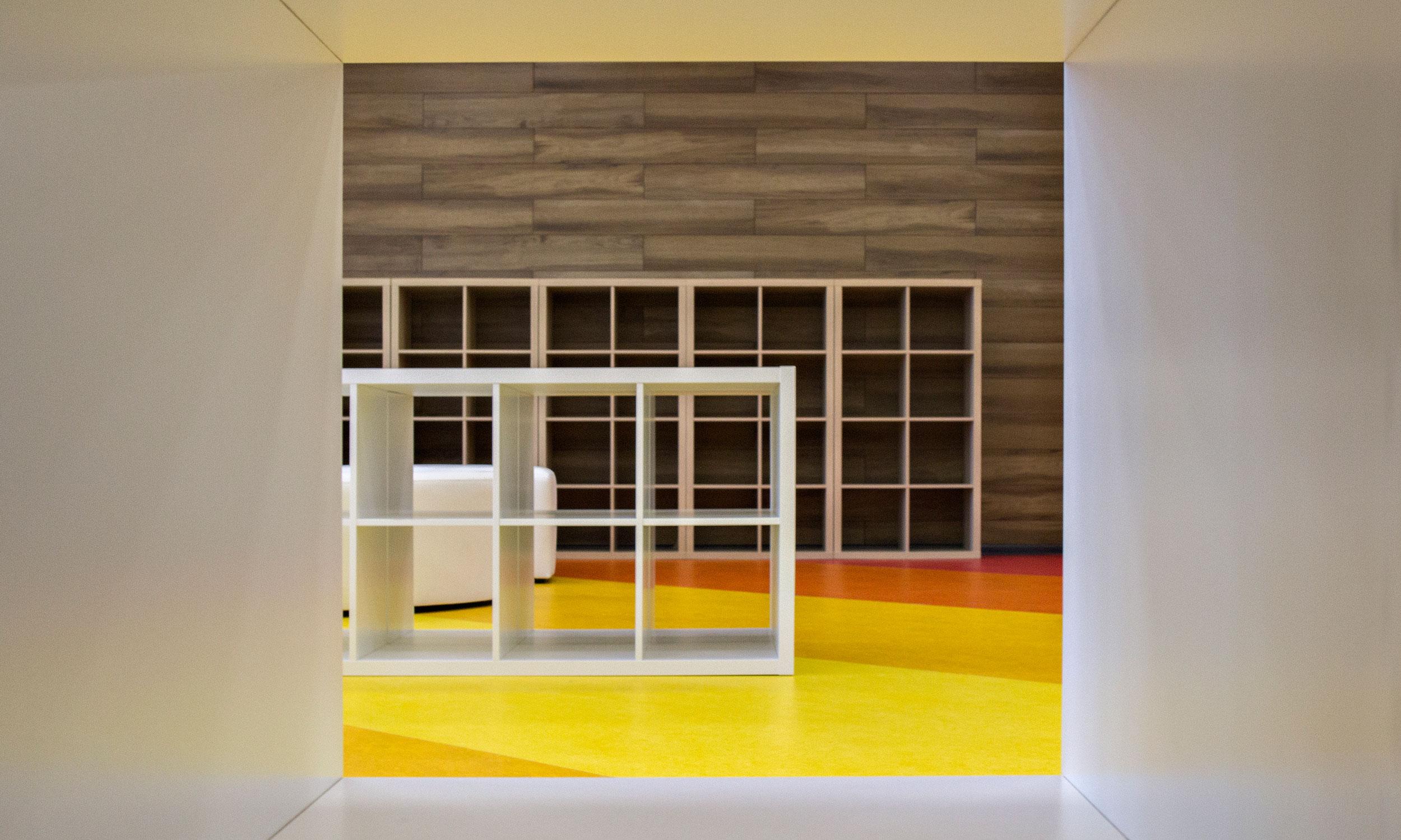 Рекреация-библиотека блока B