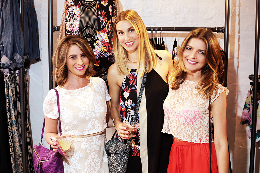 Whitney Port was on deck to host the event with Kiara Horwitz of KHPR