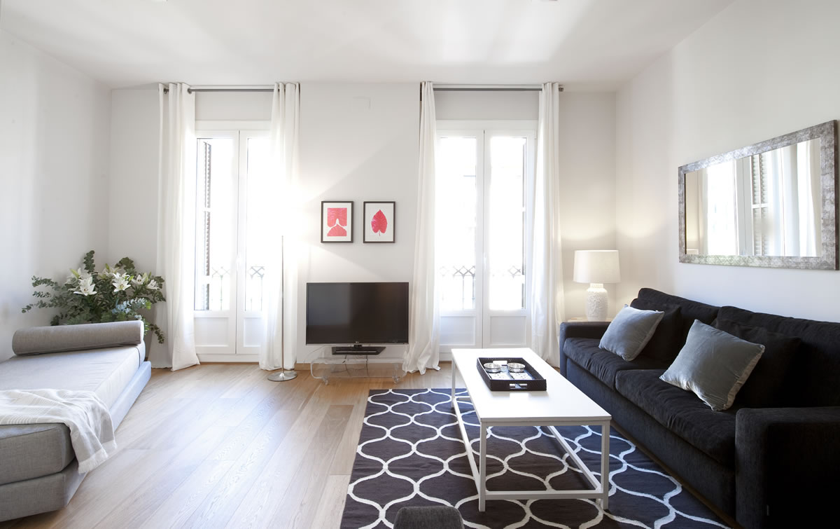 Vivienda decorada por The House para Aspasios Boutique Apartments