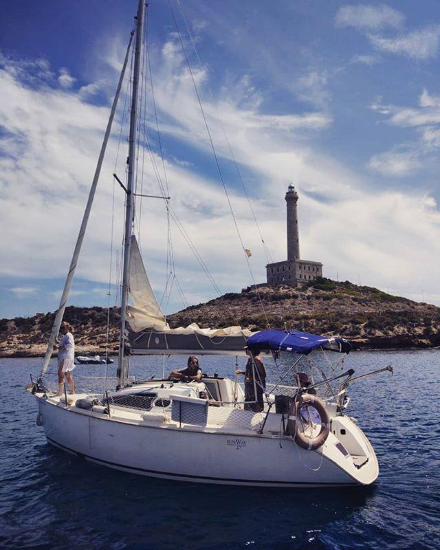 Listas para zarpar #seacaboloquesedaba #cabopalos #habibisolochicas #lasdelpantalán😍 #quebienviviroli #mediterraneo #summertime #yaluzdeseptiembre #ellunesempiezo
