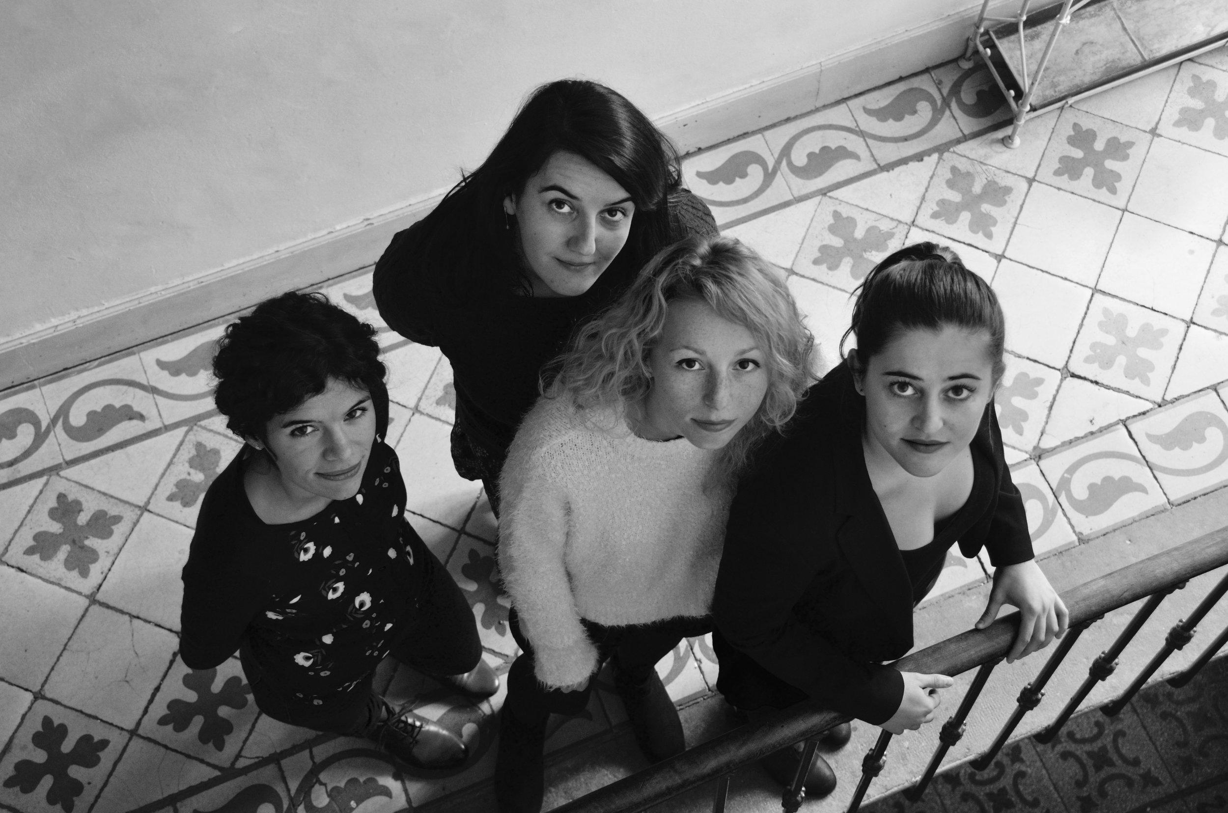 Laurence Verant, Louise Mercier-Gilles, Jodyline Gallavardin, Gabrielle Jardin