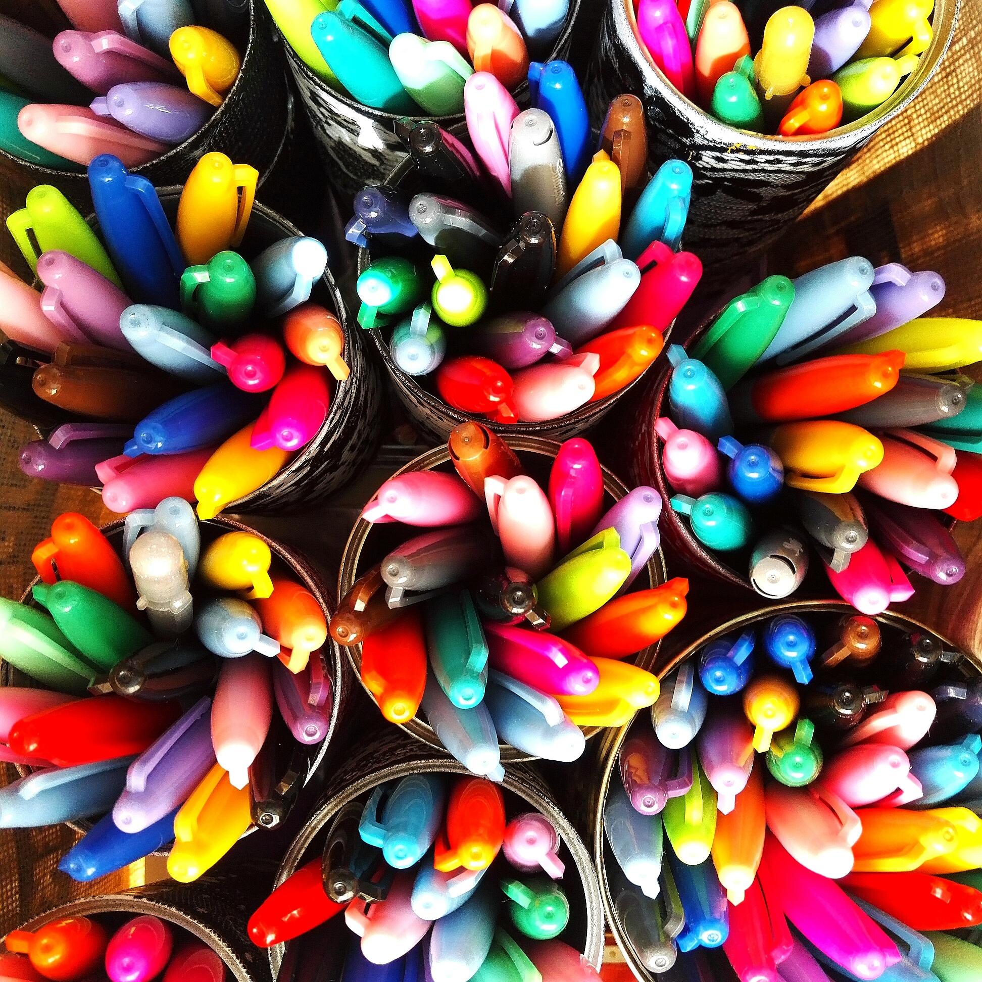 Mindfullness väritys luennon lomassa edistää oppimista