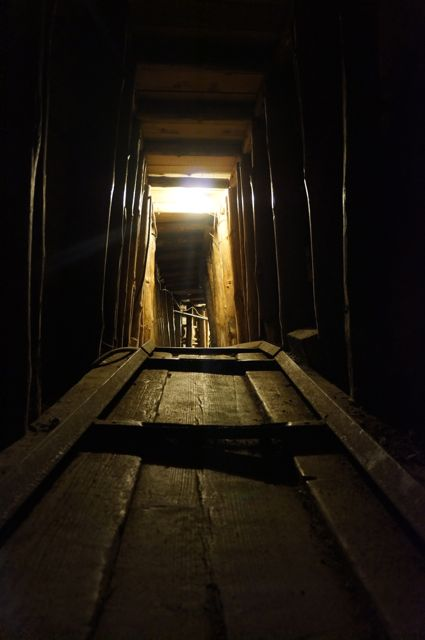 the Tunnel of Hope