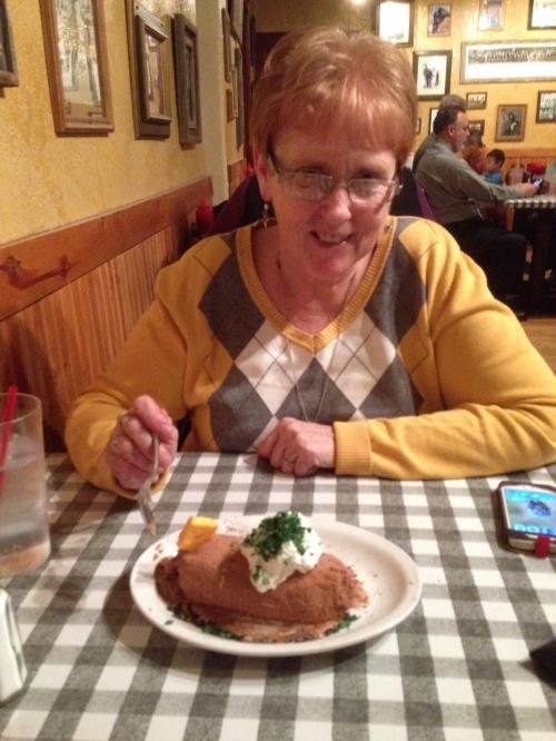 These Irish. Even the dessert looks like a potato!