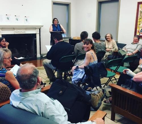 Patricia Dunn at Podium. (Photo courtesy SL Instagram)
