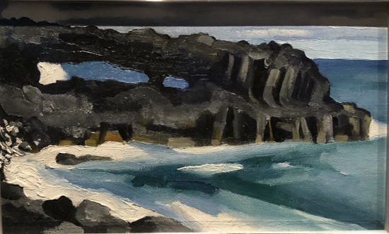 This one was my favorite. It reminded me of a beach I visited in Iceland.
