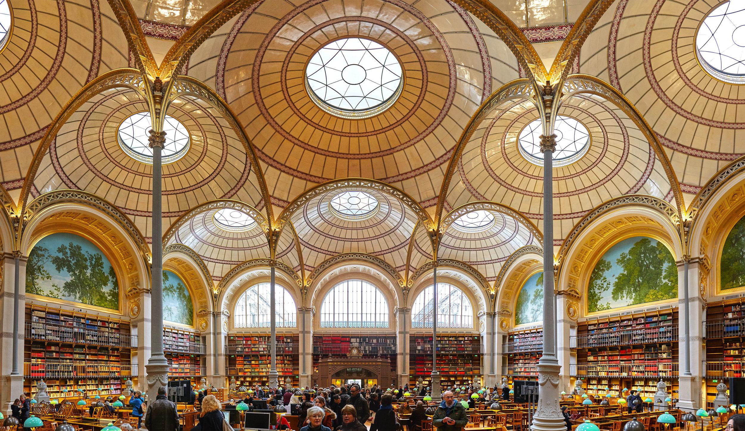 BnF Richelieu salle Labrouste