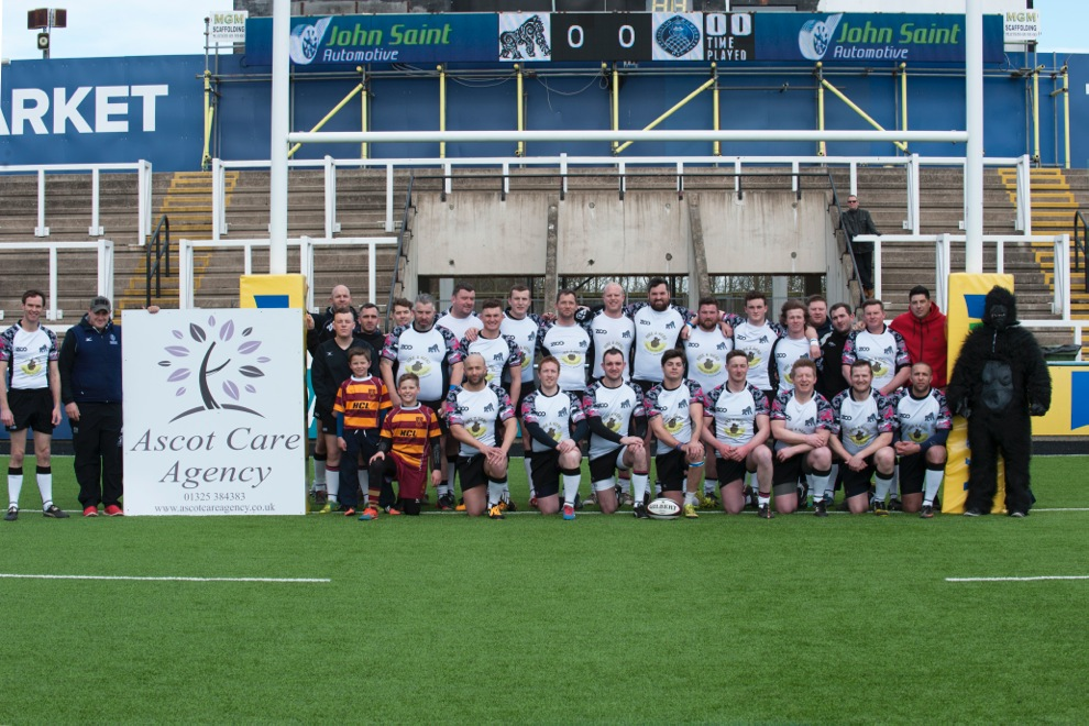 Ascot Care like to support our nominated charties in various ways and we continue this on Sunday 27th March. at the home of the Newcastle Falcons Rugby Team.  Ascot Care are not only sponsoring the Gorilla's rugby game but also providng support with the organisation and staff even playing. For further details on this charity please check out this website....  www.1820foundation.comor click  HERE  to access the site  It will be a great family day out so get yourselfs down to support a great charity event and all Ascot Care staff playing and organising the event.