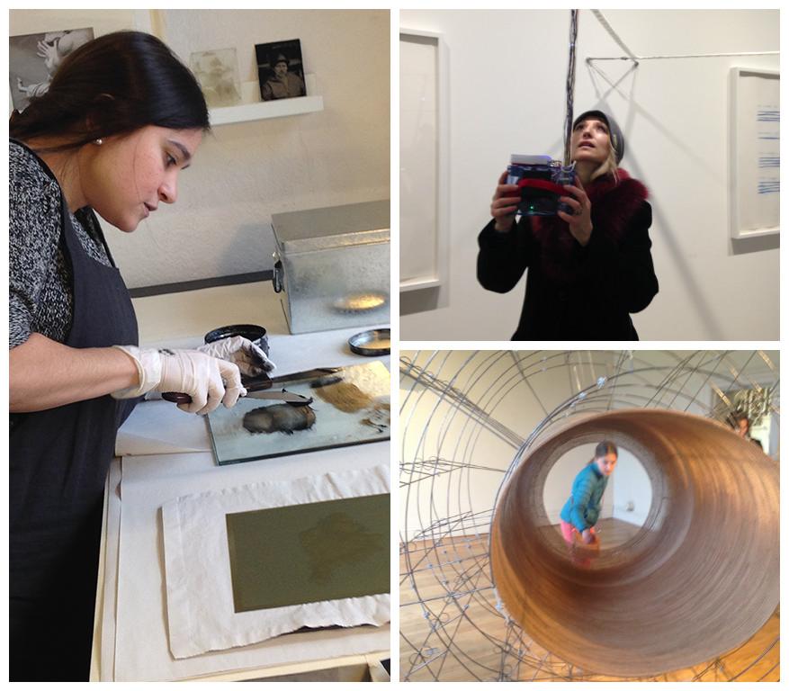 Testimonials from art tour participants