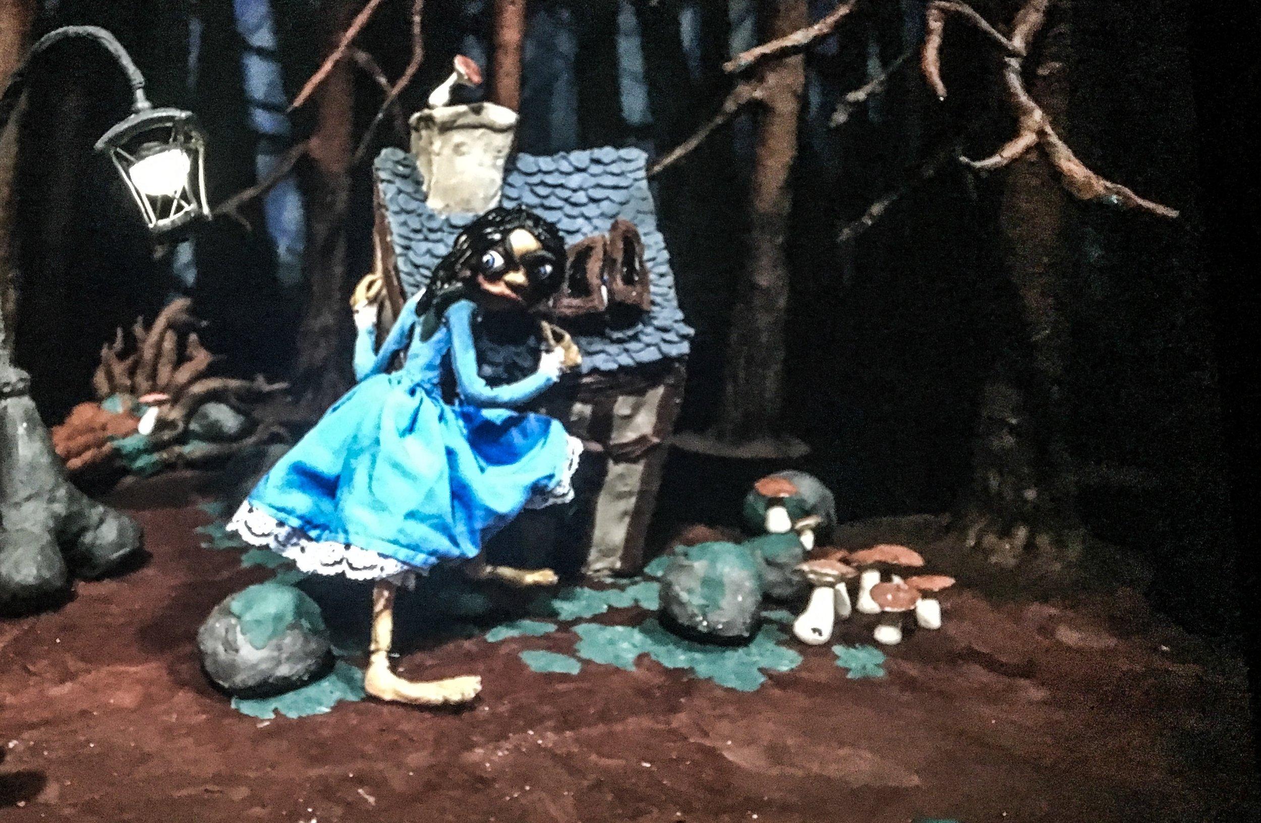 Still from video 'Dark Side of the Moon'