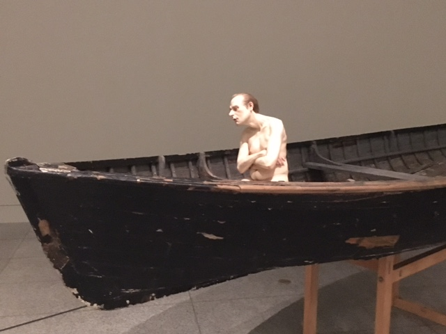Ron Mueck,  Man in a Boat,  2002