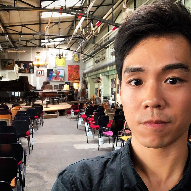 """Stealth review from Berliner @morgenpost this morning🕵️♂️‼️🙊 . """"In a music business not exactly lacking in pianists, Ben Kim belongs to that small group whose playing extends beyond brilliant keyboard magic and pleasing, beautiful sound. More so, Kim is a narrator who knows how to captivate his audience from first to last note."""" . Despite the """"sloppy, slightly hurried"""" encore, all was forgiven by a recital described as """"masterful...downright phenomenal...outstanding."""" 🙌✌️😬😂 . Did not expect a review today! #whatthefluff #surprise #mariofelixvogt #pianorecital #klavierabend #christophori #salon #berlin . See link above for full review in DE"""