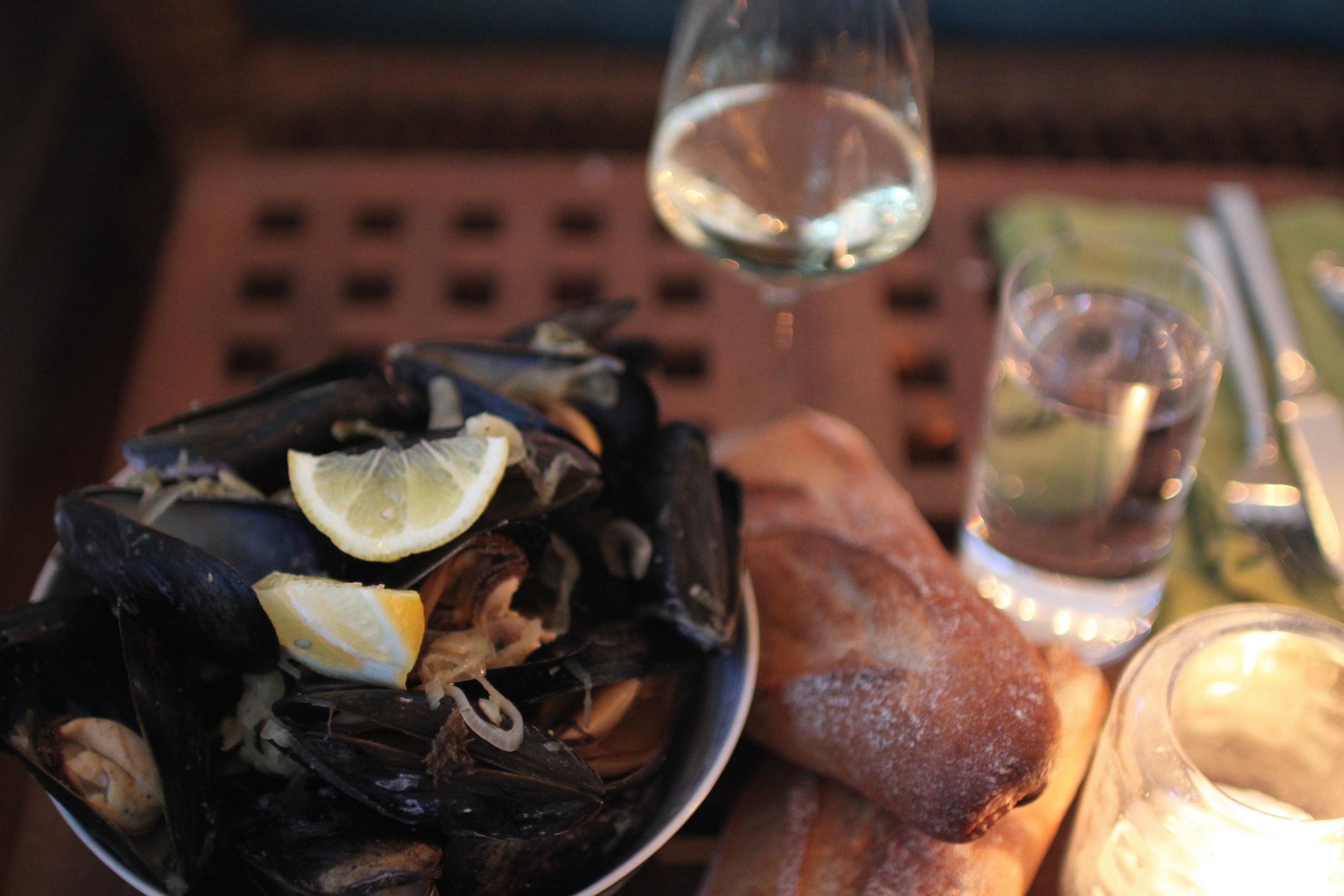 Kozani mussels