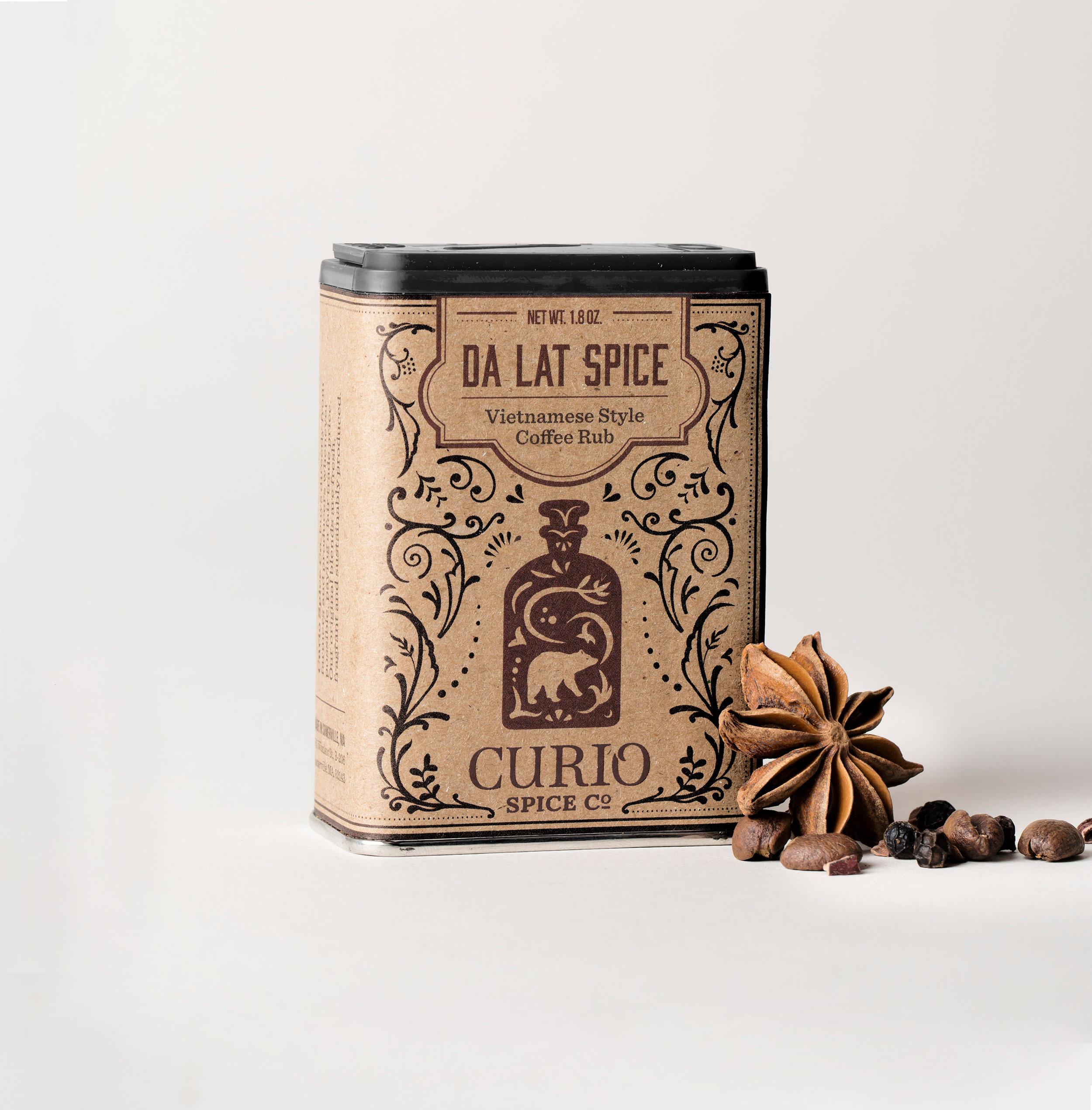 Da Lat Spice - a bold Vietnamese style coffee & spice rub