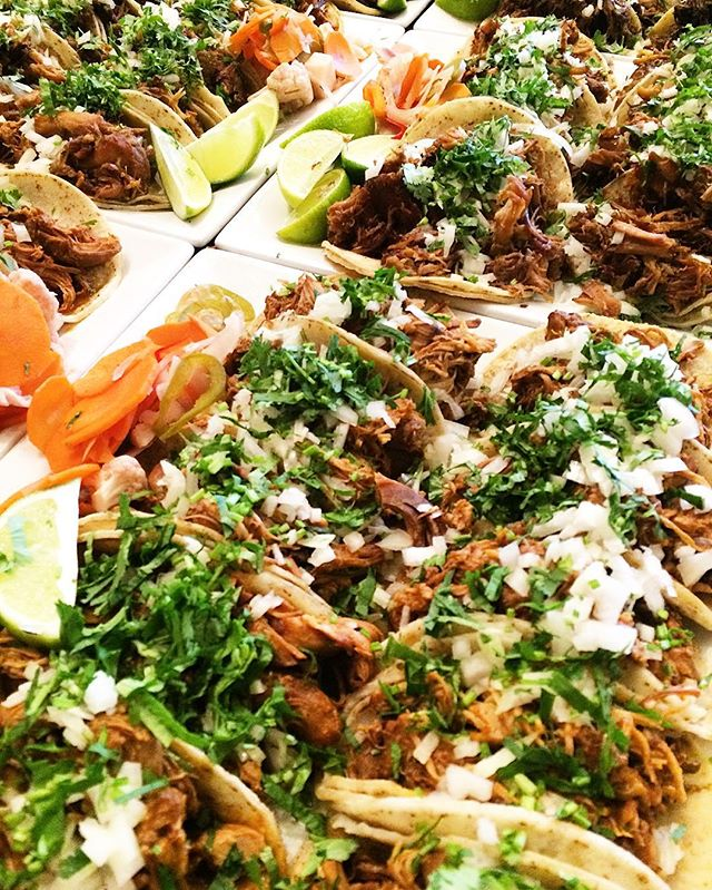 I drank 18 rums today guys, my reward is a sea of tacos. Hard work.