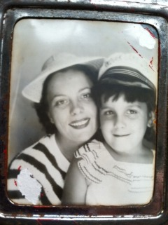 My mother and me, 1951