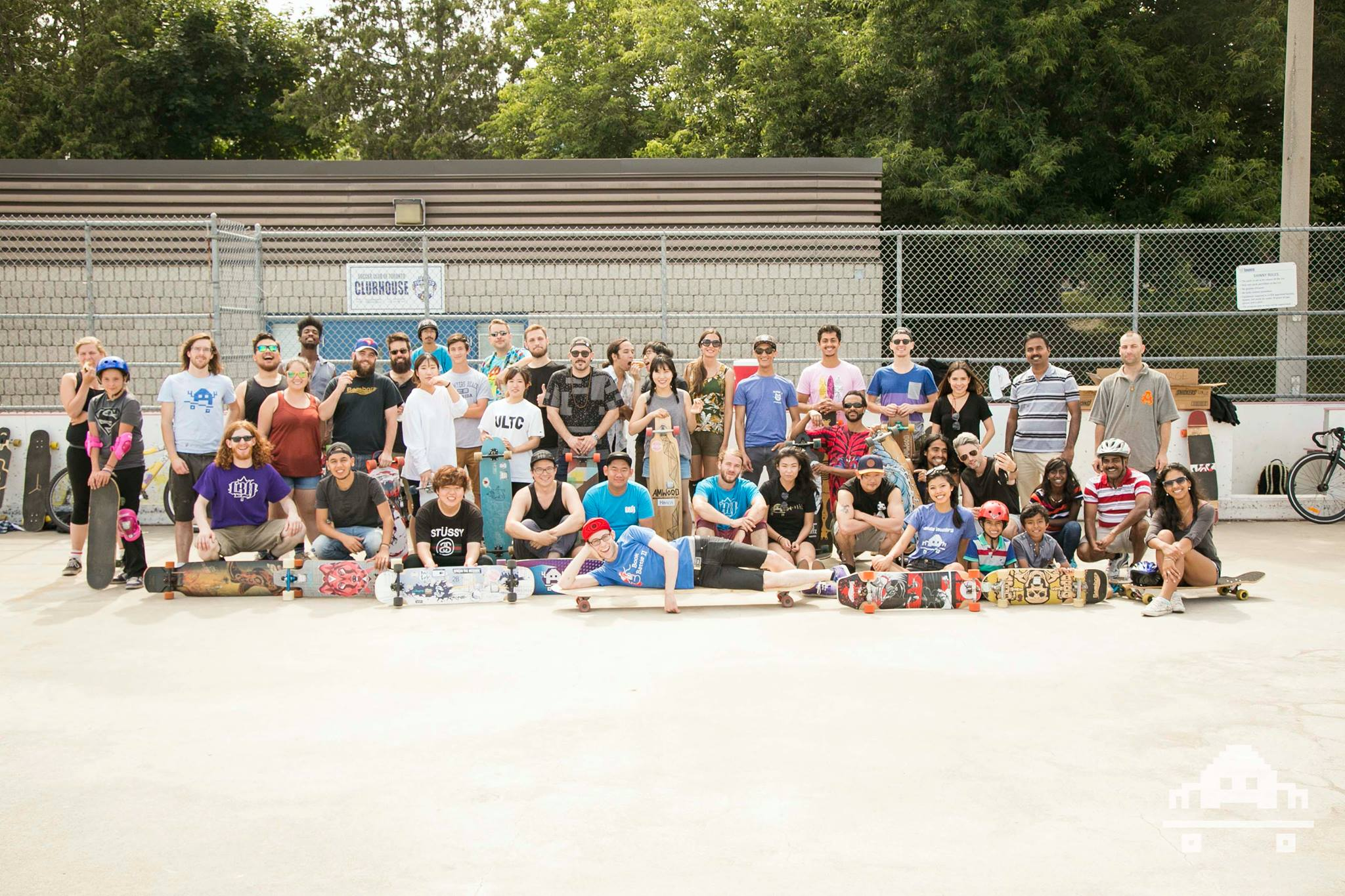 The NOOBeginnings family! Smiles from ear to ear on every person!! Photo - Jon Nuss