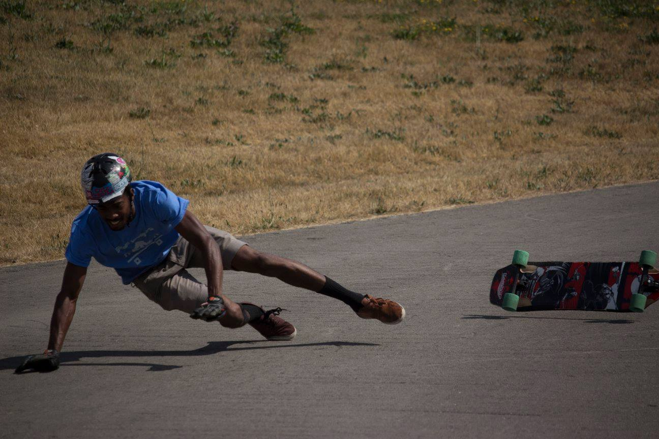Brady Brown doin' a little break dancing. Photo - Sierra Paterson