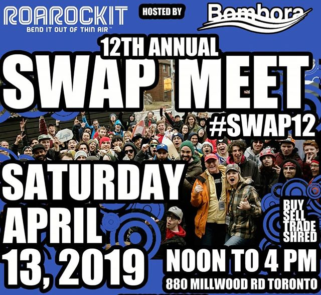 Save the date boys and girls! #swap12  @roarockit @longboard_haven @axess33 @zero_fucks_bolt_co @oasisskateboardfactory @concretewavemag @champstiles @starbuckscanada @hamilton.bayfront.cruise @skateinvaders