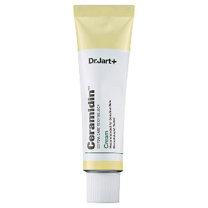 Dr. Jart Ceramidin Cream: This is an absolute must for dry skin! I use this on set for a quick fix with rough, dehydrated skin as well as for myself when my psoriasis lesions are bad. It is quenching and super soothing
