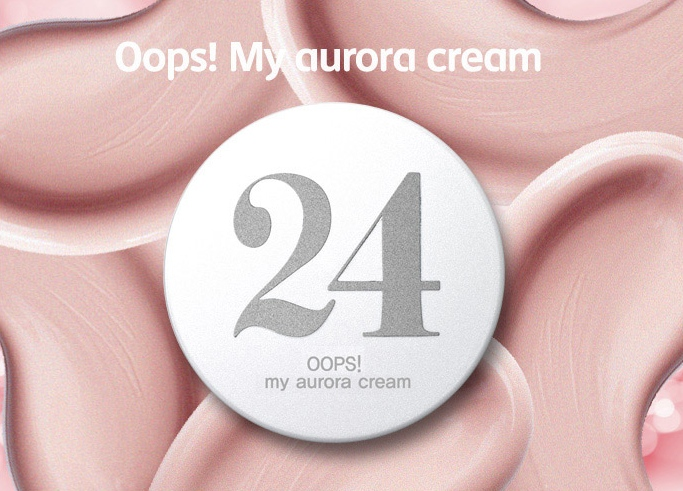 "Berrisom Oops! My Aurora Cream: Definitely not the easiest thing to purchase in the US, but if you can, you need to buy it. This is a lustrous peachy-pink cream that gives skin a moist, dewy look. It contains 8 berry extracts and comes in a sanitary dispenser. What I love about this is you CAN mix it or apply under a foundation or BB/CC cream without worrying about your makeup slipping. I got to use this on set yesterday underneath the foundation and over top the skin care, it made a difference in the luminosity of the model's skin. This is an awesome ""base"" to use on its own for everyday use under your makeup!"