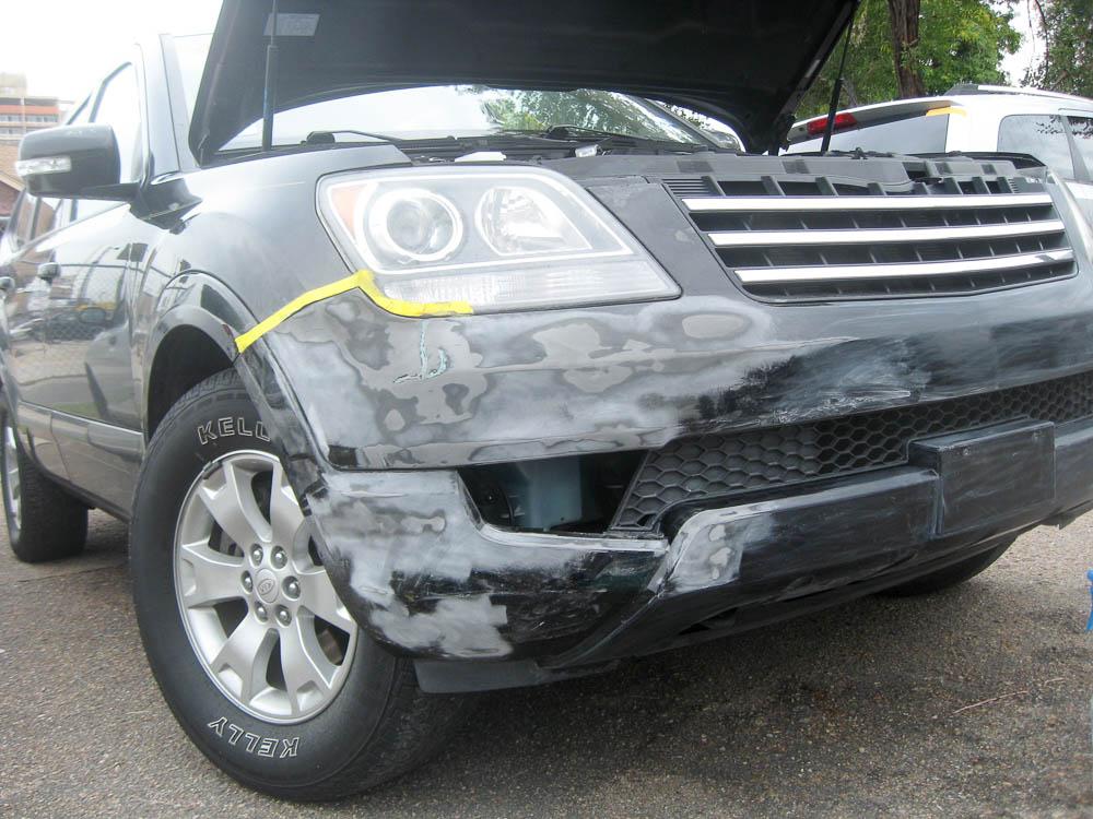 Bumper Repair - Before