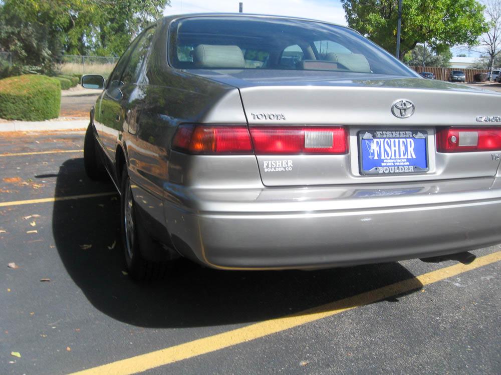 Bumper Repair - After