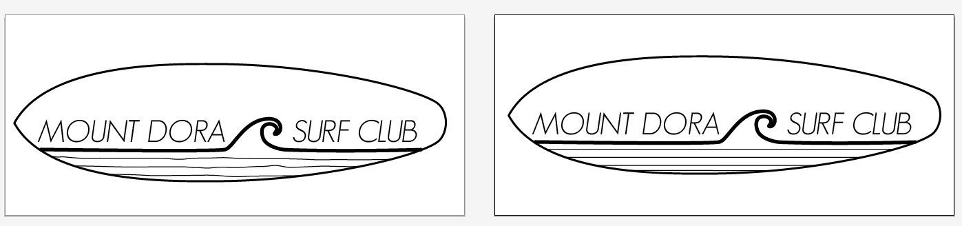 Second round of design options