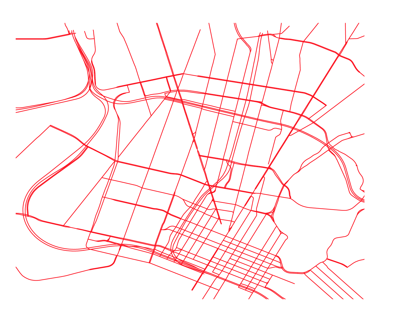 Here's the vector version after our filtered data has passed through QGIS and into Illustrator