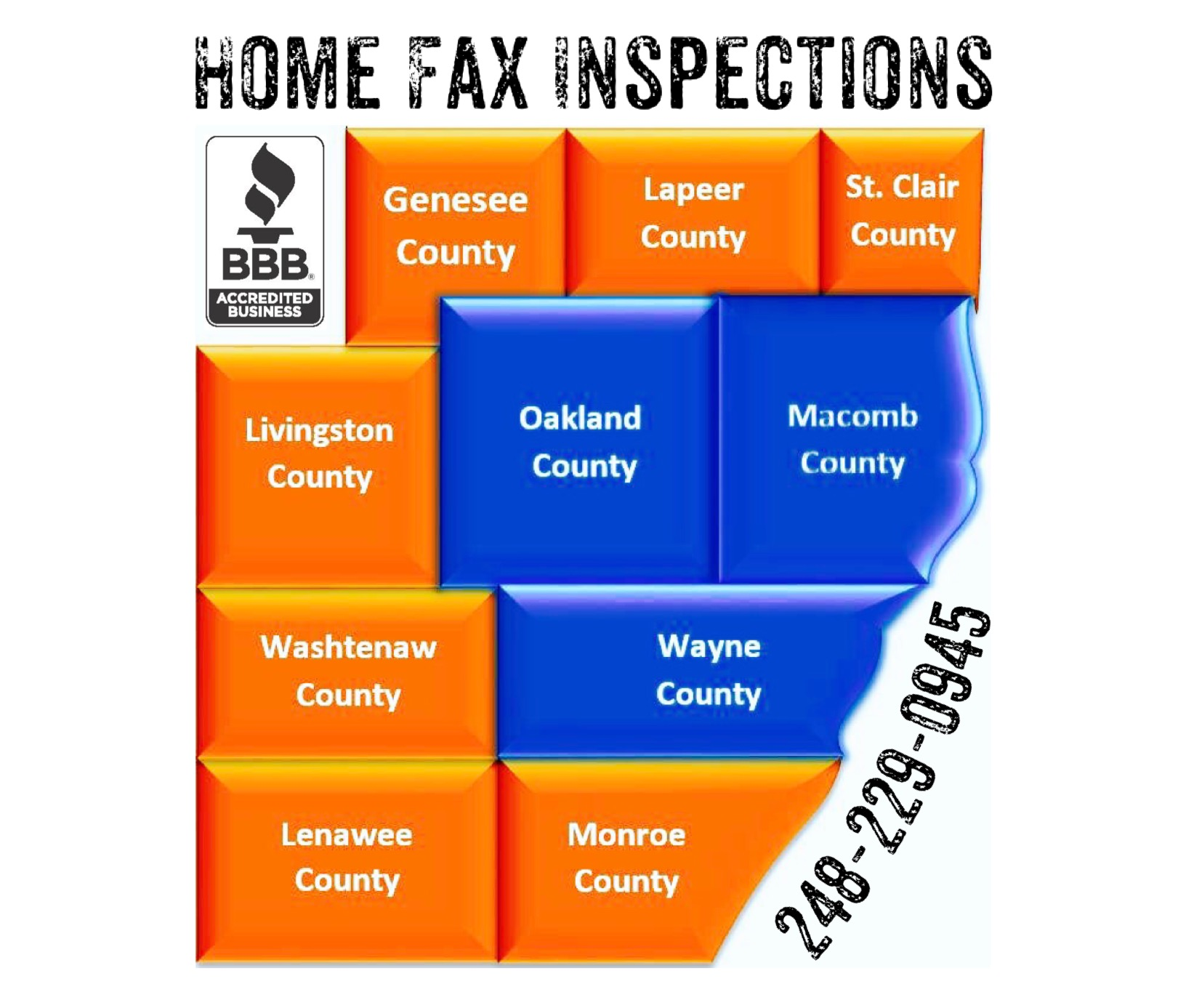 home fax inspections home inspection coverage area