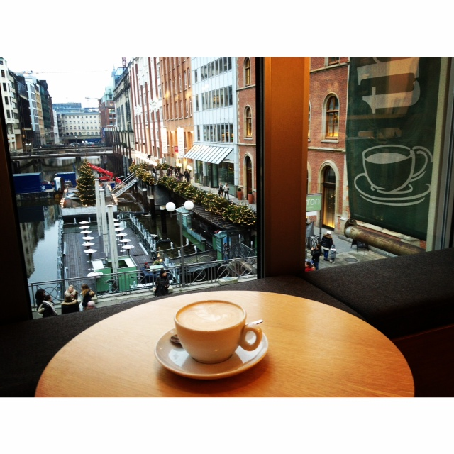 The Coffee Shop: Hamburg, Germany