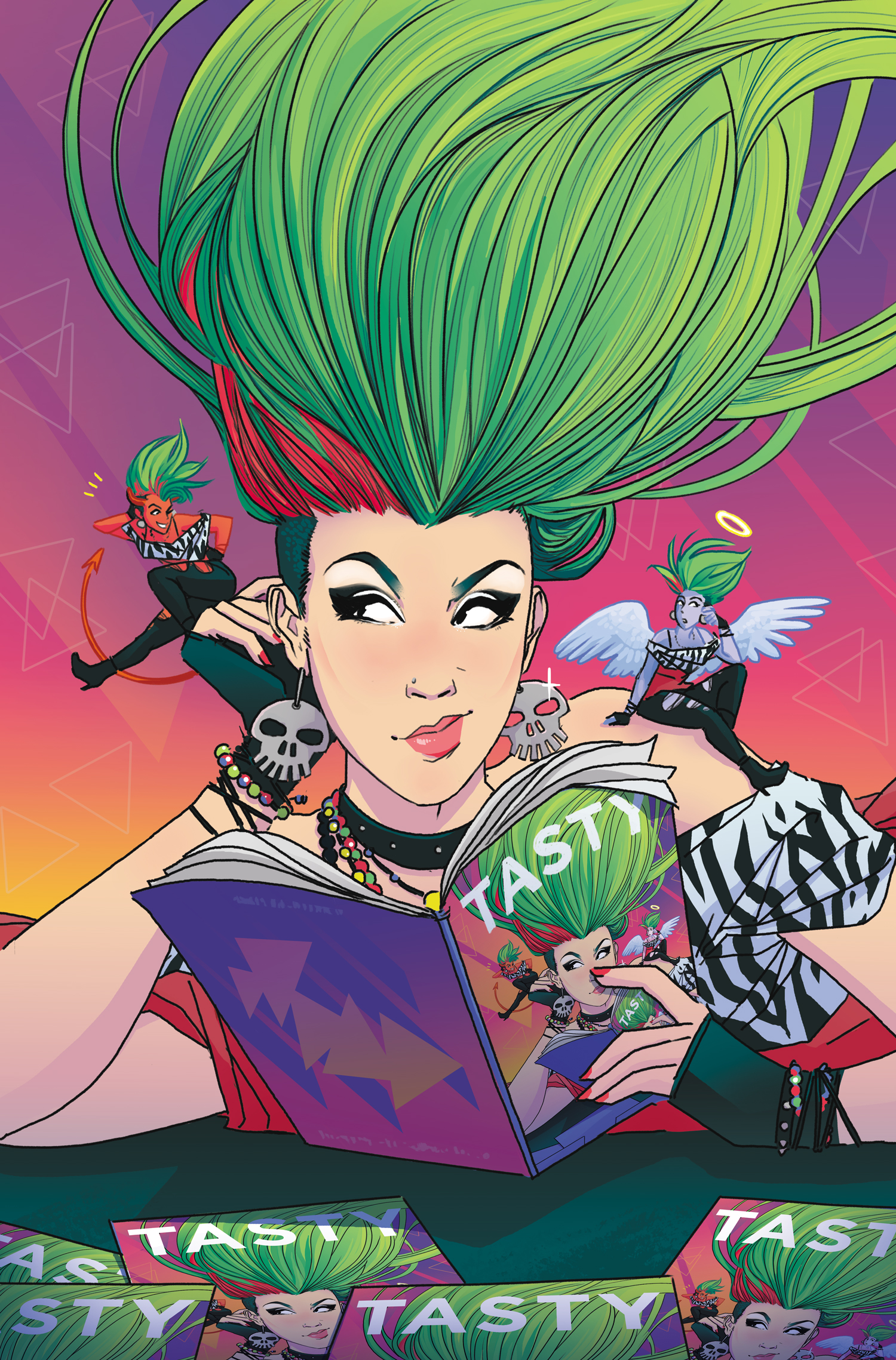 Cover  - Jem & The Holograms: DIMENSIONS #4  - IDW