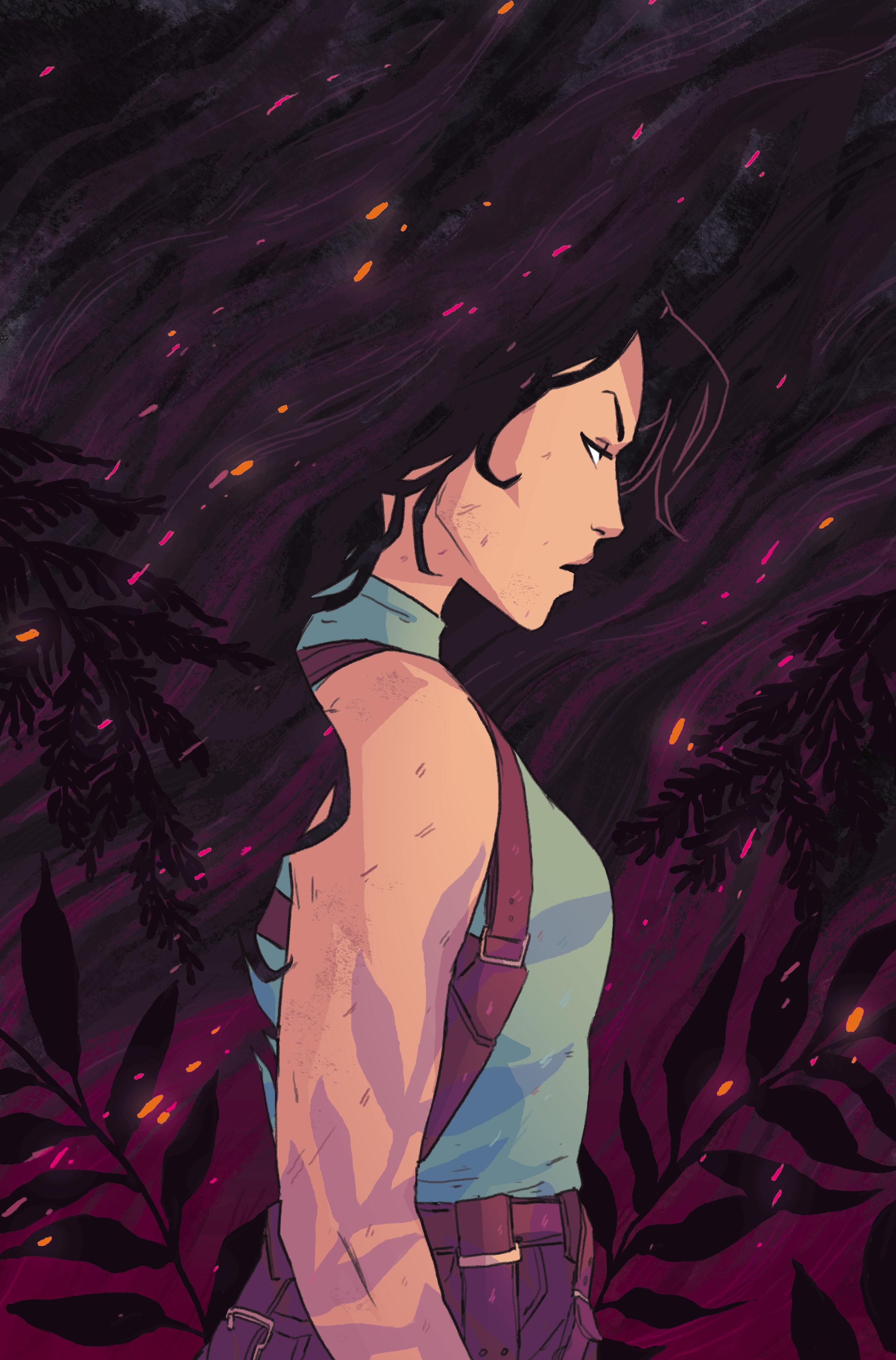 Cover  - Tomb Raider: Inferno  #3 - Dark Horse Comics
