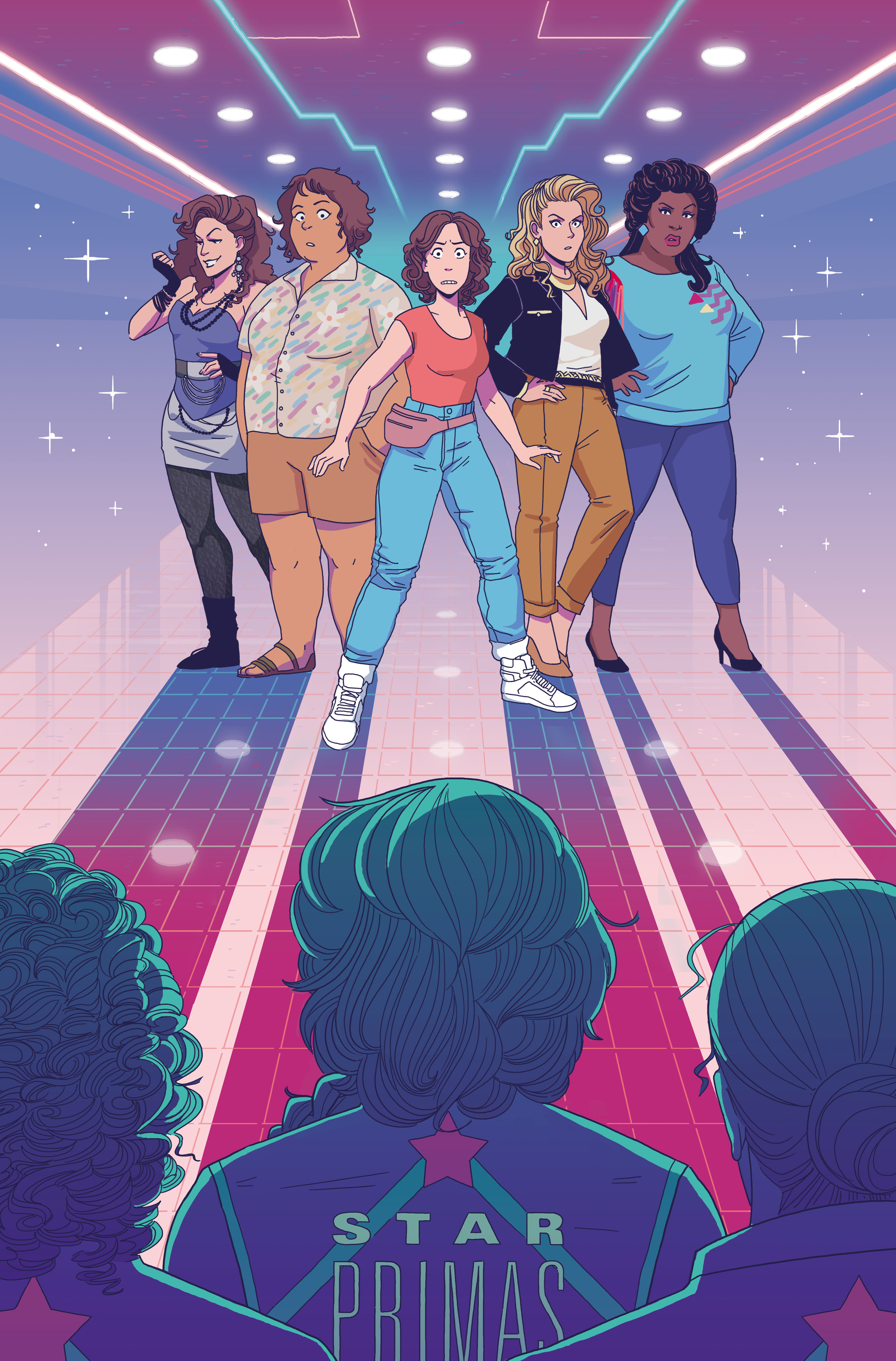 Cover  - GLOW #2  - IDW   View Interview »